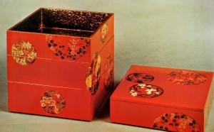 漆工芸の重箱